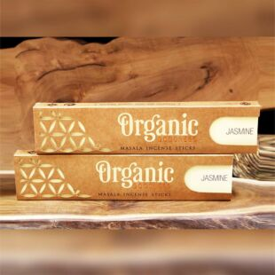 ORGANIC MASALA INCENSE STICKS - JASMINE (SET OF 12)