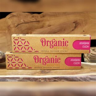 ORGANIC MASALA INCENSE STICKS - ARABIAN OUDH (SET OF 12)