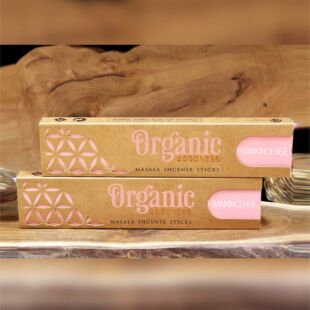 ORGANIC MASALA INCENSE STICKS - FRANCKINCENSE (SET OF 12)