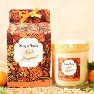 LITTLE PLEASURES SCENTED CANDLE NEROLI BERGAMOT