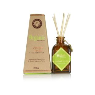 ORGANIC GOODNESS REED STICKS- PATCHOULI VANILLA