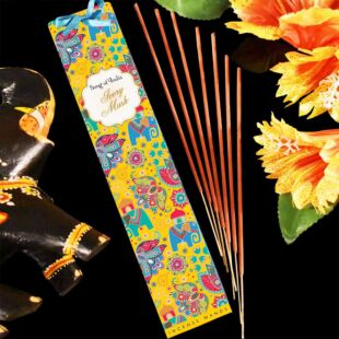 25g. LITTLE PLEASURE NATURAL  INCENSE WANDS - IVORY MUSK (SET OF 12)