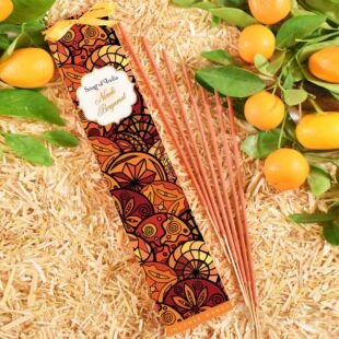 25g. LITTLE PLEASURE NATURAL  INCENSE WANDS - NEROLI BERGAMOT (SET OF 12)