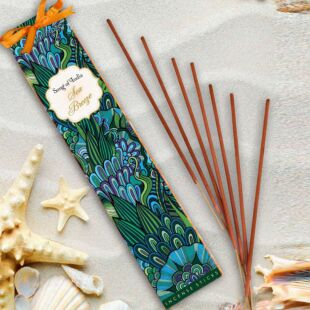 25g. LITTLE PLEASURE NATURAL  INCENSE WANDS - SEA BREEZE (SET OF 12)