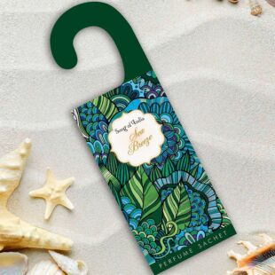 ORGANIC HANGING  PERFUME SACHET SEA BREEZE (SET OF 12)