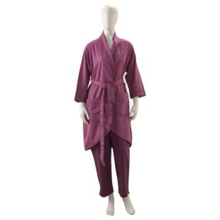 LE GRAND LOUIS PURPLE DRESSING GOWN