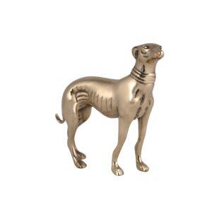 NAENIA LOOM DOG STANDING FIGURINE
