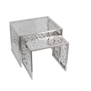 PLATA METAL NESTING TABLES