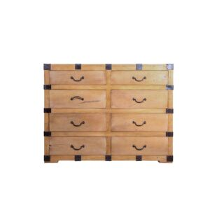 VINTAGE WOODEN BEDROOM DRAWER, NATURAL WOODEN FINISH