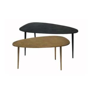 PLECTRUM DUNLOP OYSTER SIDE TABLE