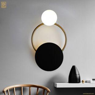 BAILY VOLTA SADDLEBROWN WALL LAMP