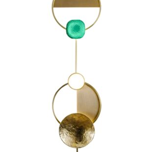 GRAYSON OURO VERDE WALL LAMPS