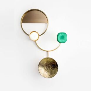 GEORGE OURO VERDE WALL LAMPS