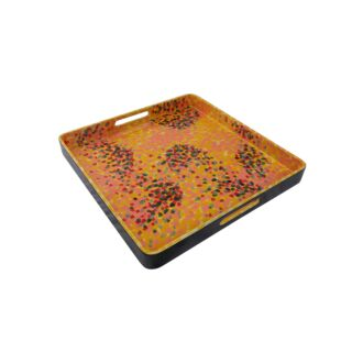 HANDPAINTED SQUARE TRAY