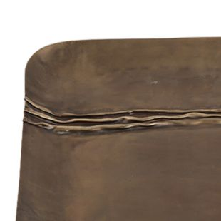 Oblong Patina Accent Tray - Small