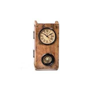 Upcycled Brick Mould Pendulum Wall Clock