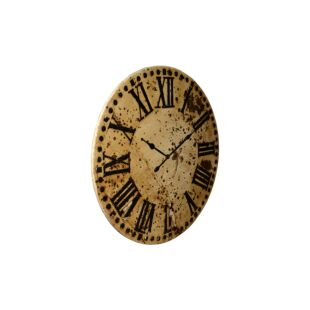 Large Round Iron Dhaal Wall Clock