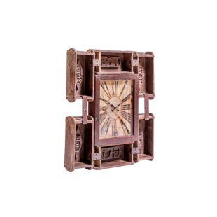 Upcycled Brick Mould Wall Clock