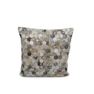 GARBO HEXAGON SHAPE TEXTURED CUSHION COVERS