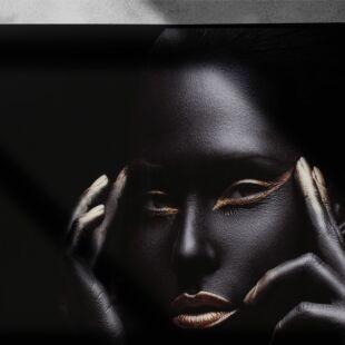 AFRICAN FEMMES JET BLACK ART