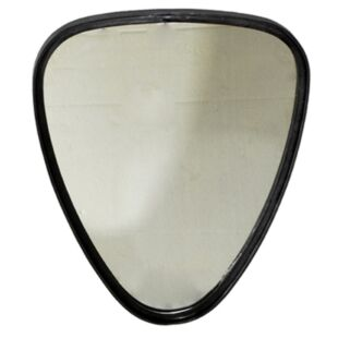 BLACK POWDER COATED SABLE  MIRROR