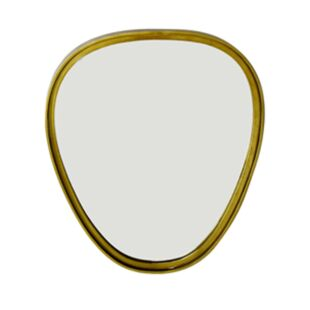 GOLD OAT MIRROR