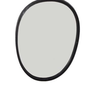 SADIE  BLACK POWDER COATED MIRROR