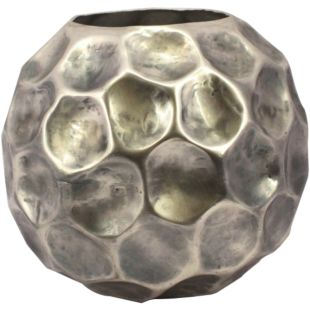 OXIDISED HAMMERED VASE