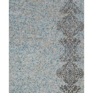 REDKO RUGS - TURQUOISE & GOLD