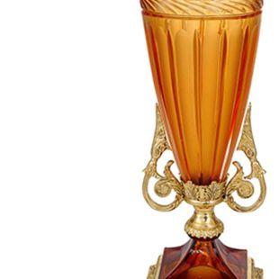 VASO DE WALNUT CRYSTAL JAR