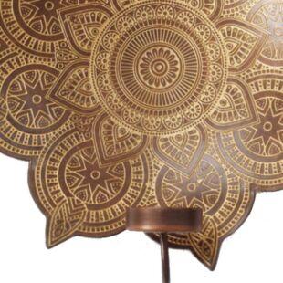 Indoda T-Light Copper Wall Holder