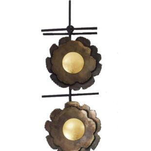 Tres Multi Candle Decorative Wall Holder-Small