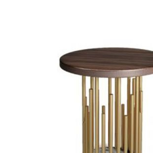 JONAS CHIMES FLAXEN COFFEE TABLE