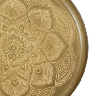 Faniyin Brass Wall Art Platter