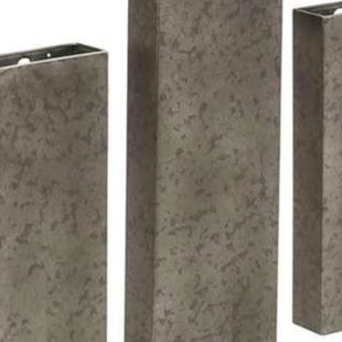 Ferro Grise Wall Mounted Planters - Set Of Three