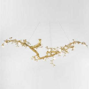 BIG PEONY 30 LED 2500X900mm LUXE SUSPENDED LAMP