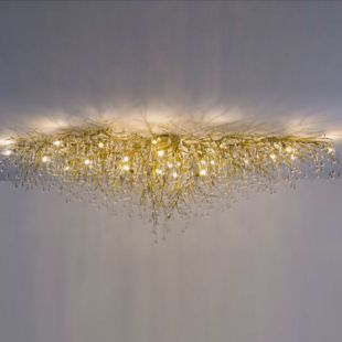 WATER DROP 1900x800x600mm LUXE CEILING LAMP