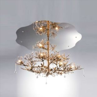 WATER DROP 800x1050mm LUXE SUSPENDED LAMP