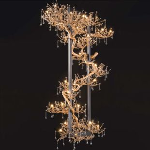 WATER DROP 1150 x 750x660mm LUXE TABLE LAMP
