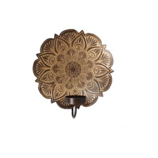 Shumie Copper T-Light Wall Holder