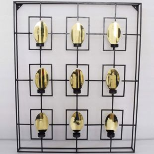 Pared Multi-Candle Wall Holder