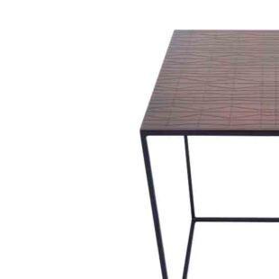 NOIR MAT SQUAIRO NESTING TABLE