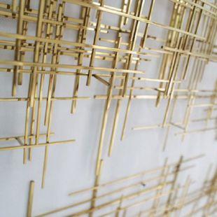 Mapa Linea Metal Wall Art
