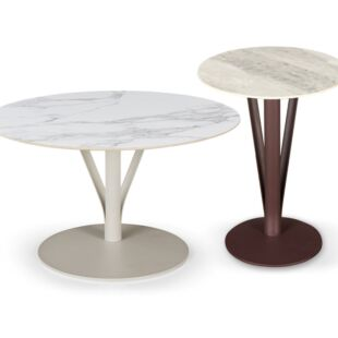 ANGELICA TWIN TORRE NESTING COFFEE TABLES
