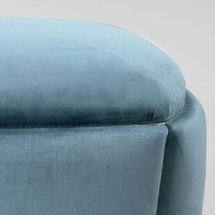 CLEMENTINE BLUE ICE OTTOMAN & BENCHES