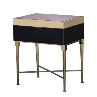 ATRAX ROBUSTUS OPERA MAUVE SIDE TABLES